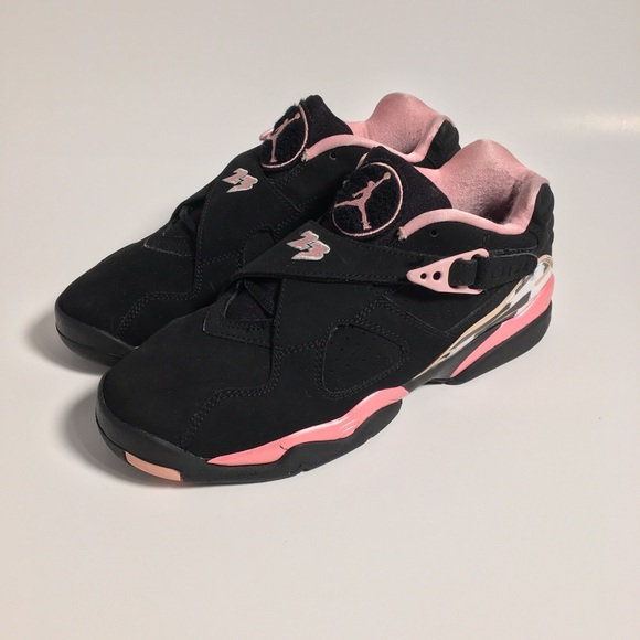 25da216fe6d991 Jordan Shoes - 2007 Nike Air Jordan Retro 8 317639 061 Black Pink